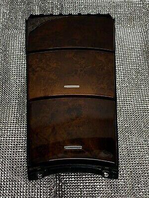 Mercedes Benz ML W164 Ablagefach Staufach Getränkehalter Holzdekor A1646800814