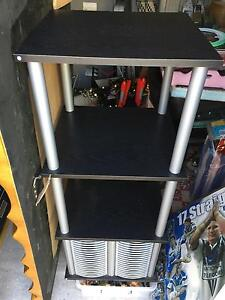 CHEAP LAYERED STAND WITH DVD BOTTOME ALL AROUND  POCKETS Revesby Bankstown Area Preview