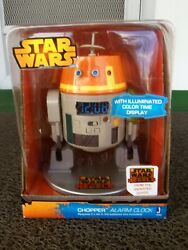 Star Wars Rebels Animated Chopper robot illuminated alarm clock R2-D2 look like