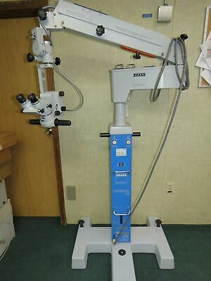 Zeiss Opmi Mdm Surgical Microscope With Universal S2 Stand 125x Objectives