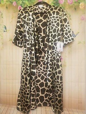 ** NWT * Lularoe Small Shirley * Unicorn Animal Print * Giraffe * Brown Beige **