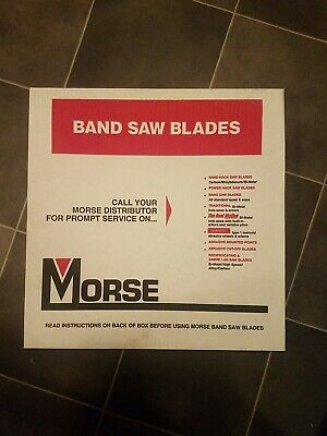 Morse Band Saw Blade 12 25 10r Hb 10 Metal Cutting
