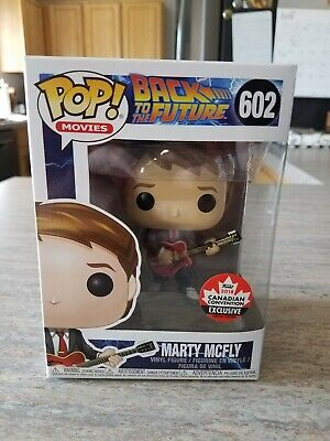 Funko Pop Back to the Future Marty McFly #602 2018 Canadian Convention Exclusive