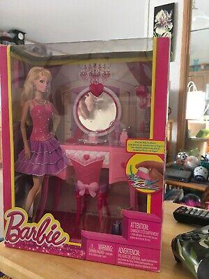 Barbie Doll Glam Vanity Set