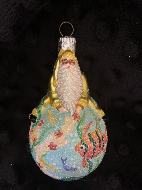 Patricia Breen Santa Ornament