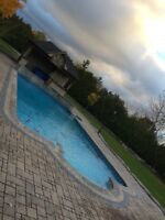 Swimming Pool Closings + Cover Installations