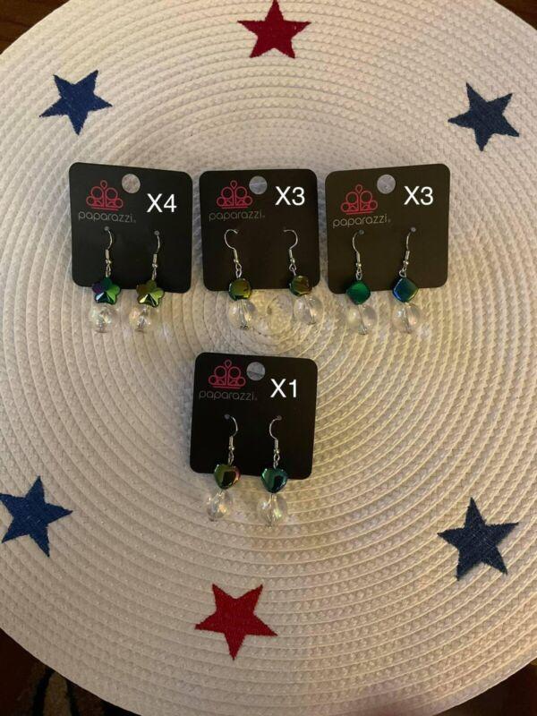 Kids Paparazzi Jewelry Lot Mixed Lot Earrings, Bracelets, Rings 55 Pieces