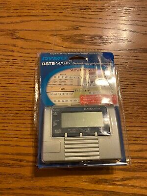 Dymo Datemark Stamp Electronic Date Time New Damaged Packaging