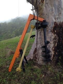 3PL post hole auger