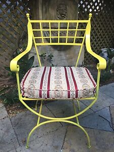 Custom made set of four metal chairs Rushcutters Bay Inner Sydney Preview
