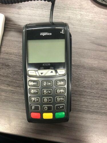 Ict 220 Ingenico Credit Card Terminal