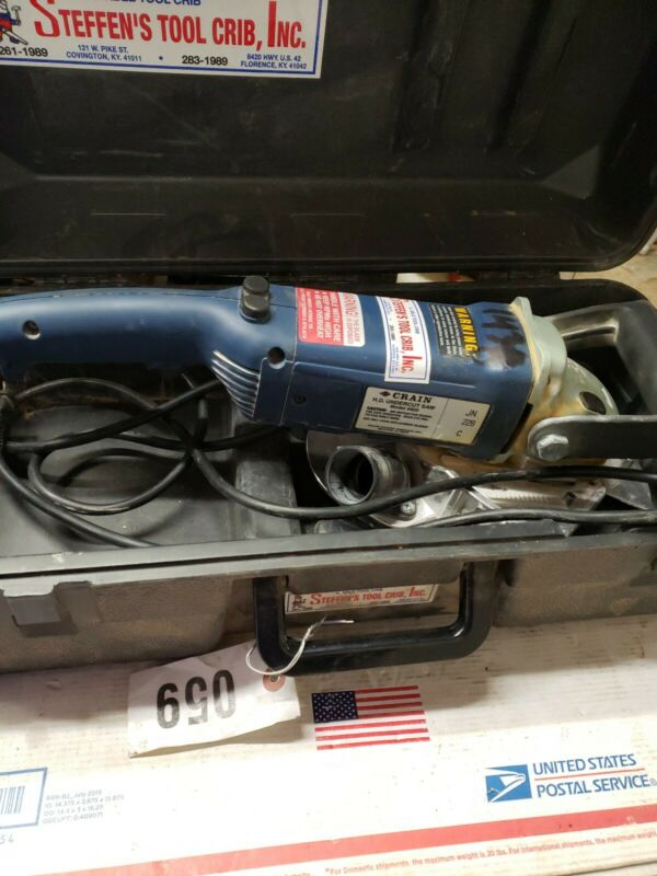 Crain Model 820 Heavy Duty Undercut Saw with Case #7297