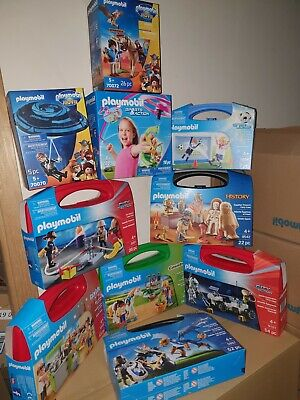 Playmobil Carry Cases, Packs, Boxes X 10 New Clearance Bargain SRP £120ish set 8
