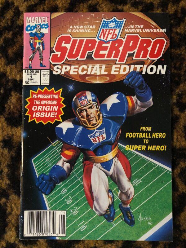Marvel Comics NFL SUPER PRO SPECIAL EDITION 1991 #1