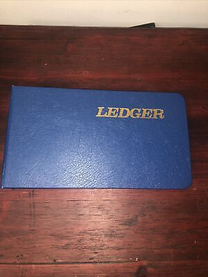 Wilson Jones Ring Ledger Outfit Complete System 5 12 X 8 12 Blue