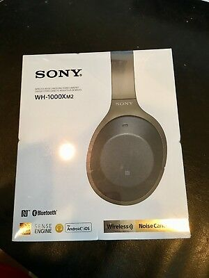 Sony WH-1000XM2 Hubbub Cancelling Headphone, Black - *BRAND NEW FACTORY SEALED*