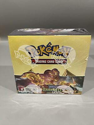 A2) 2020 Pokemon DARKNESS ABLAZE Booster Box 36 Packs FACTORY SEALED NEW