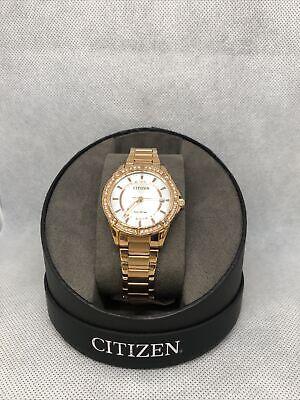 Citizen Eco-Drive Ladies Watch! FE6063-53A! BNIB! RRP £240!