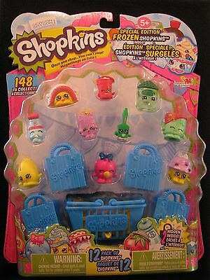 Season1, Shopkins Special Edition Frozen 12 Pack of Shopkins, Green Freezy Peazy