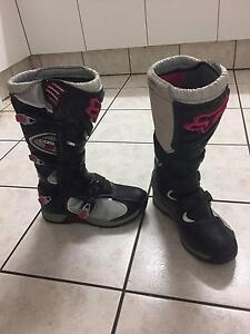 Motorcross Fox Boots  Size usa W11 eu44 Comp 5 Morayfield Caboolture Area Preview