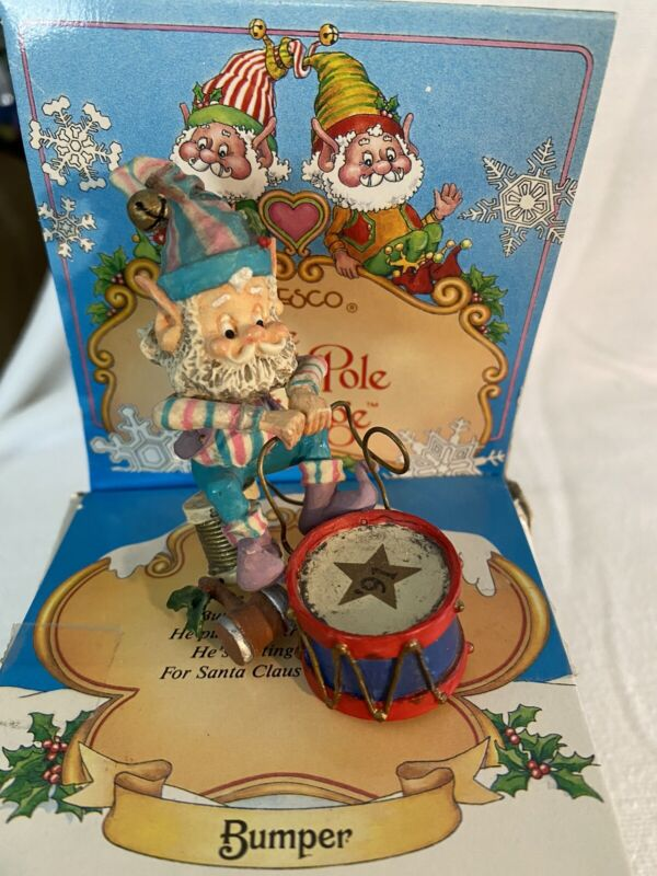 Enesco Sandy Zimnicki BUMPER 930909 North Pole Village SUPER RARE