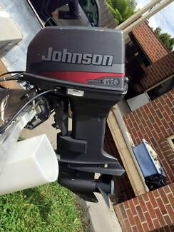 """40HP 1999 """"Commercial"""" Elec start Johnson LS outboard"""