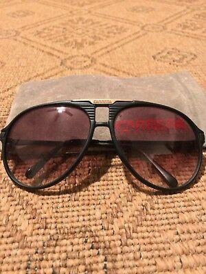 Carerra 5955 90 Genuine Vintage Designer Aviator Style (Carerra Sun Glasses)