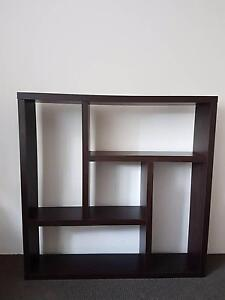 Brown wooden bookcase Randwick Eastern Suburbs Preview
