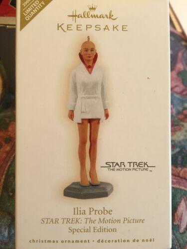 "2009 Hallmark STAR TREK ""ILIA PROBE"" Limited Edition Holiday Ornament NIB"