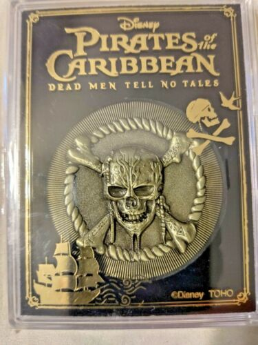 Japan Movie Theater Pirates of the Carribean Dead Men Tell No Tales Movie Coin M