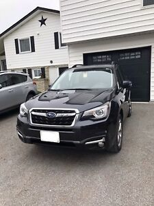 2017 Subaru Forester 2.5i Limited with tech package