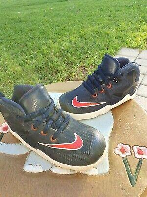 "Nike Lebron XIII ""Navy"" Boys' Toddler 8C"