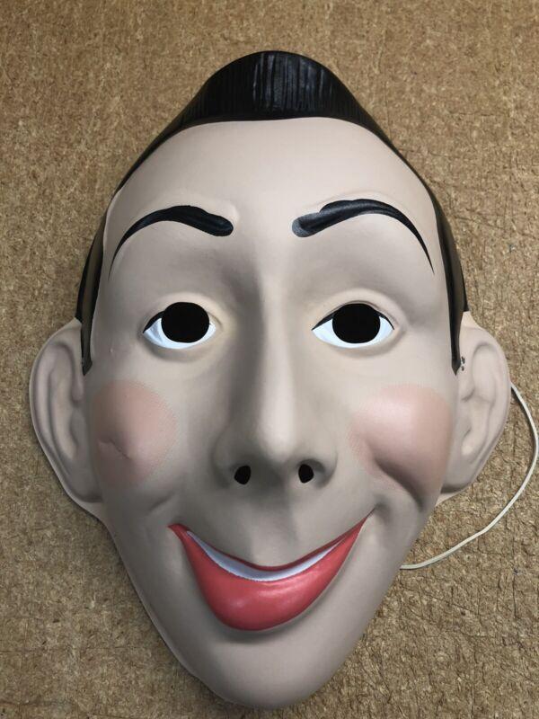 -Damaged- Ben Cooper Pee-Wee Herman Halloween Mask New Old Stock Vintage 1987