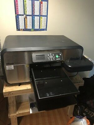 Anajet Mpower 5i Direct To Garment Printer Geo Knight Heat Press