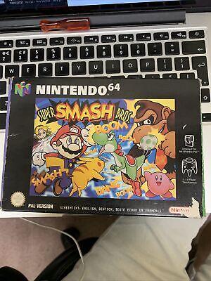 N64 Super Smash Bros - Nintendo 64 - UK / PAL - Boxed