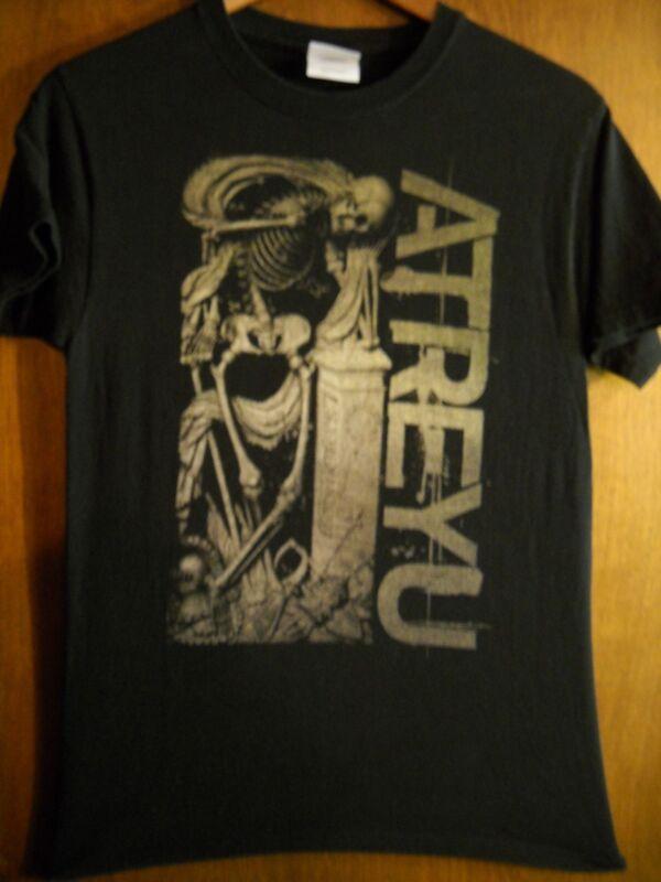 Atreyu- Skeleton- Lic OOP- Black T-Shirt- Small
