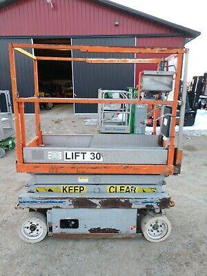 Skyjack Sjlll 3015 15 Electric Scissor Lift. Aerial Manlift Platform 24v
