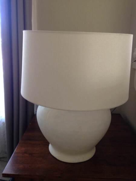 Lamp and base