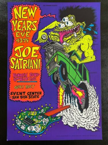 Joe Satriani Robben Ford New Year