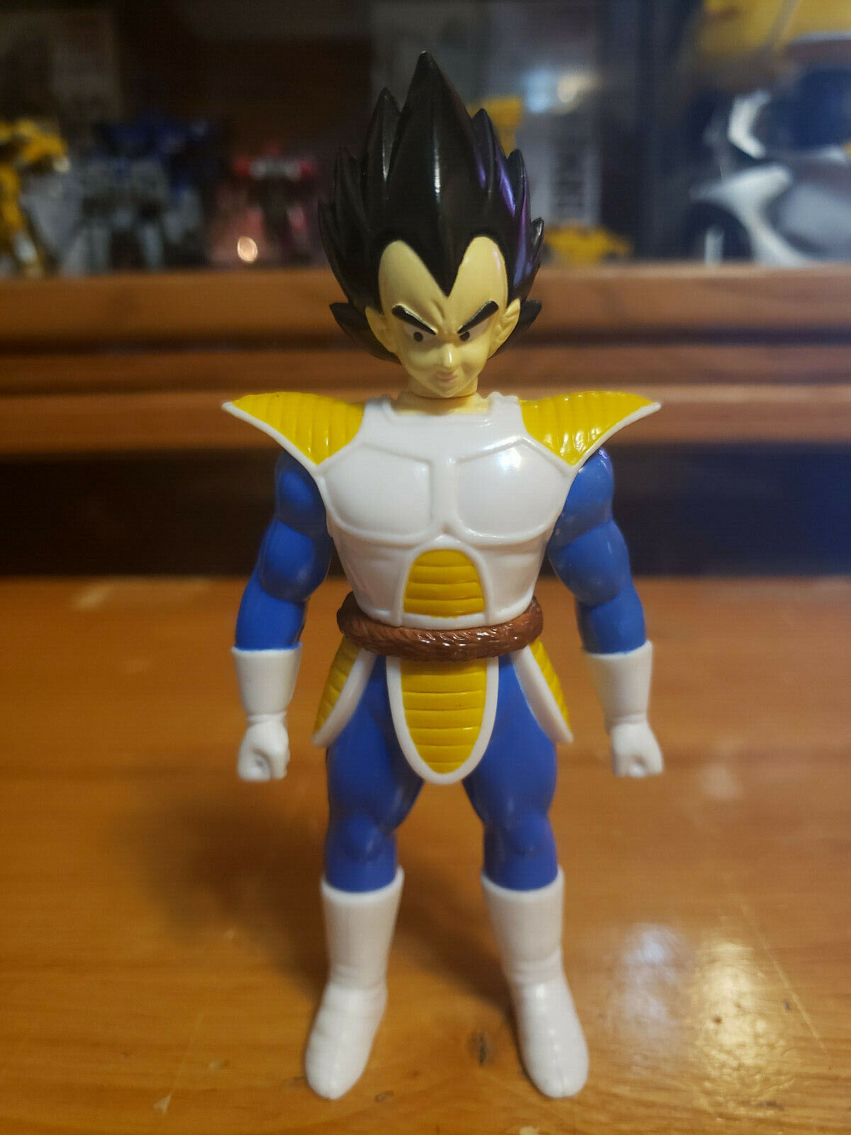 Character:Vegeta (with Tail):BANDAI Dragonball Z  and Dragon Ball GT super battle collection AB Toys & Irwin
