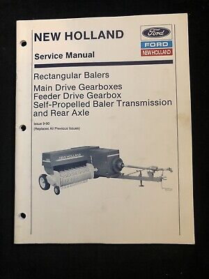 New Holland Service Manual Rect Balers Gearboxes 667