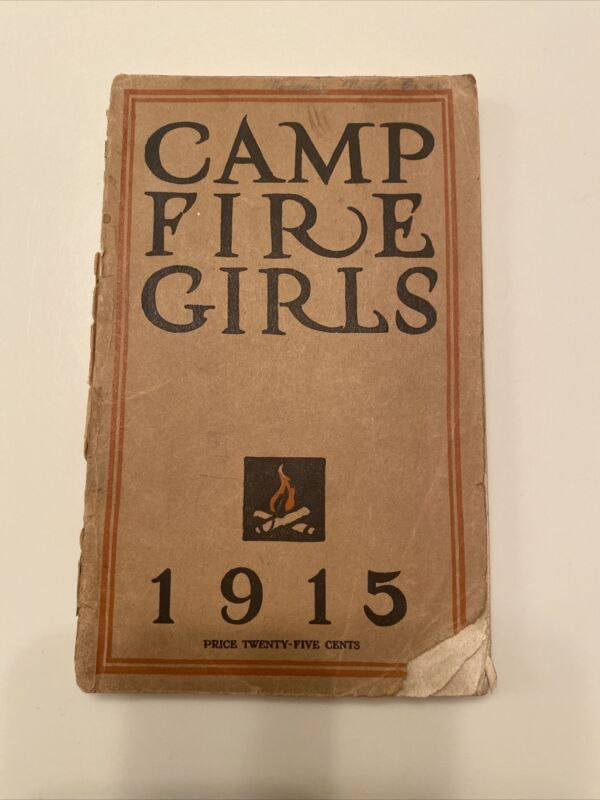 1915 1st Edition Fifth Print Camp Fire Girls Book