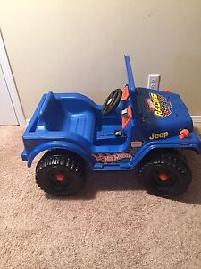 6 volt hot wheels jeep for sale