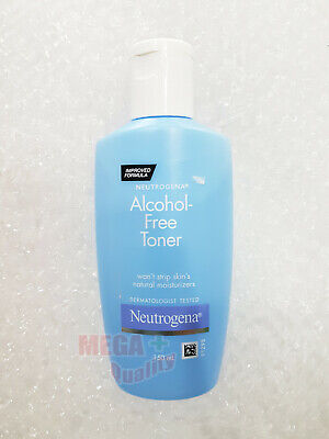 150ml.5.07ft.oz NEUTROGENA ALCOHOL-FREE TONER FACIAL CLEANER NATURAL MOISTURIZER Alcohol Free Moisturizing Cleanser
