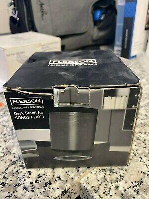 Flexson - Desk Speaker Stand - White Sonos Play 1 Free Shipping