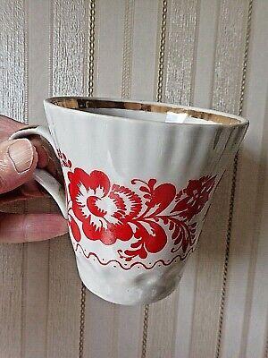 Antique SOVIET USSR UKRAINIAN Commemorative Mug: 1500 Years KIEV 20th C