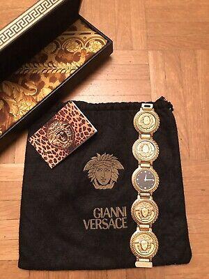Gianni Versace Ladies Watch, Gold-plated, vintage, Ebel Swiss, Medusa