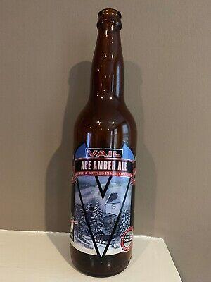 Vintage Vail Ace Amber Ale 1 Pint 6 Fl Oz Beer Bottle