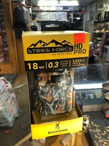 Brand new browning strike force hd pro. Trail cam