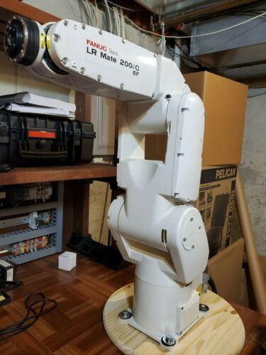 Fanuc Robot LR Mate 200iC 5F 5 Axis with R30iA Controller and Brand New Pendant